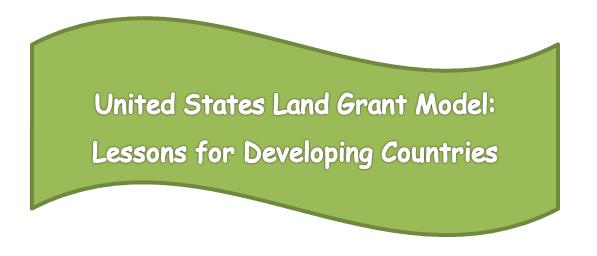 United States Land Grant Model