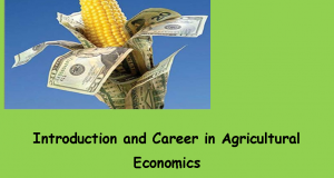 Career in Agricultural Economics | Arid Agriculture